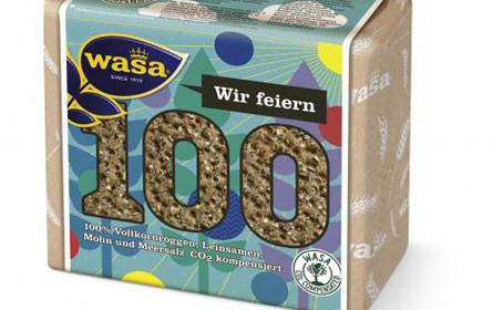 Nachhaltiges Knuspern: Wasa ist 100 (Prozent CO2-kompensiert)