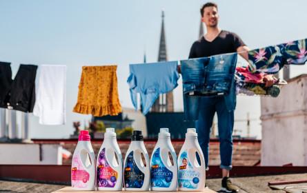 Billa setzt auf 100 % mikroplastikfreies Waschmittelsortiment