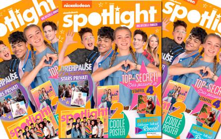 """""""Spotlight"""" - Die Erfolgsserie von Nickelodeon erscheint als Magazin"""