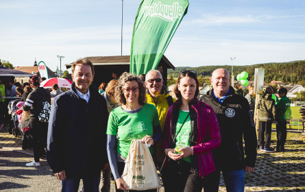 Über 2.500 Teilnehmer bei Waldquelle Wandertag in Kobersdorf