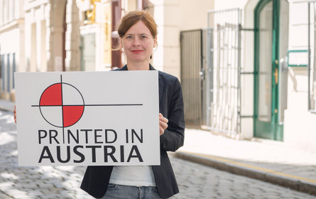 """Neues Label """"Printed in Austria"""" steht für 100 % Druck in Österreich"""
