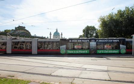 Wiener Linien und Fridays for Future gestalten Klimabim