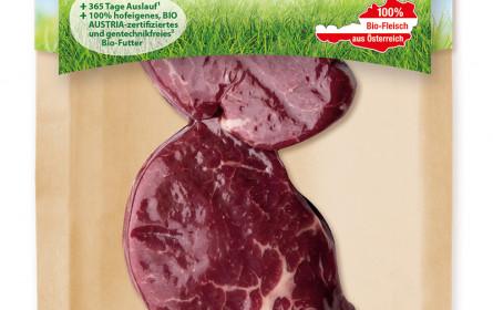Plastiksparen bei Tann-Frischfleisch - Kartonschalen reduzieren Plastik um 75 Prozent