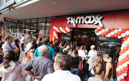 TK Maxx eröffnet erste Filiale im Burgenland