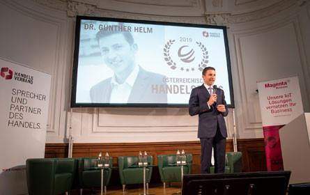 Günther Helm erhält Österreichischen Handelspreis 2019