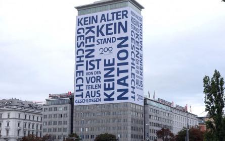 Movelight: Sichtbares Zeichen am Wiener Ringturm