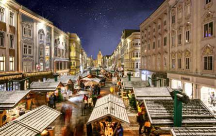 Die Welser Weihnachtswelt sorgt für Adventstimmung