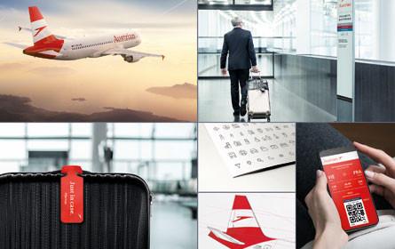 Neuer Austrian Airlines-Markenauftritt mit Red Dot Award ausgezeichnet