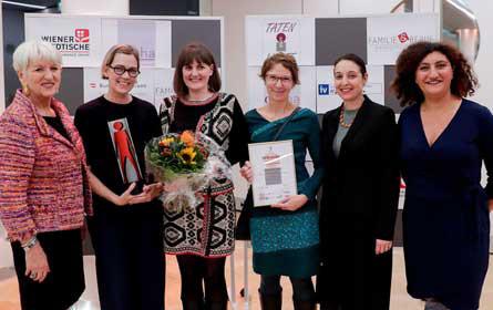 Bettertogether ist Wiens frauen- und familienfreundlichstes KMU 2019