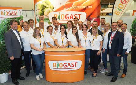 Biogast-Messe im Zeichen des 20-Jahr-Jubiläums