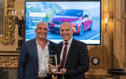 Auszeichnung für den neuen Corsa