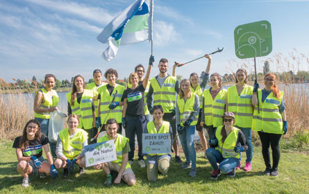 Gemeinsam im Einsatz für eine saubere Umwelt