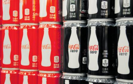 """""""Zero Sugar"""" gibt Coca-Cola Auftrieb - Umsatz kräftig gestiegen"""