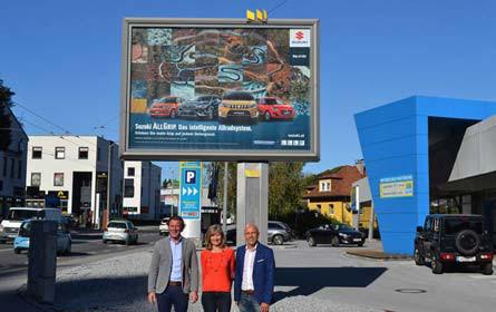 Epamedia verleiht Suzuki-Kampagne Sichtbarkeit