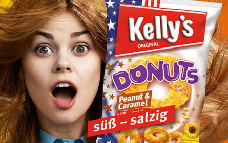 Innovative Out-of-Home-Kampagne für Kelly's Donuts