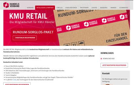 """Handelsverband baut Leistungspaket """"KMU Retail"""" weiter aus"""