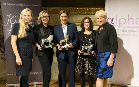 Die Nominees für die Goldene Medienlöwin