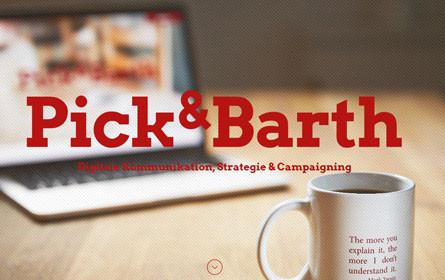 Pick & Barth: Zwei neue Kampagnen zur Gesundheitsförderung gestartet