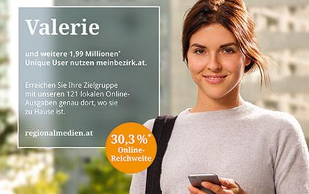 """Regionalmedien Austria mit neuer Werbelinie """"einfach näher dran"""""""
