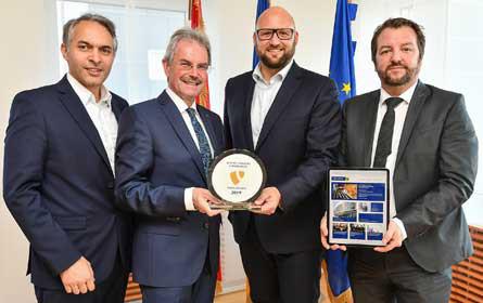 Internationaler Preis für den neuen Online-Auftritt des niederösterreichischen Landtags