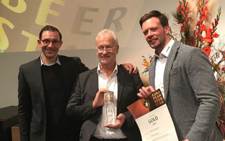 Ein goldener Stern für die Ottakringer Brauerei auf der BrauBeviale in Nürnberg