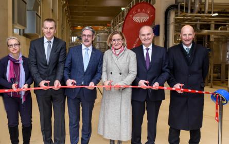 Agrana eröffnet zweite Weizenstärkeanlage am Standort Pischelsdorf
