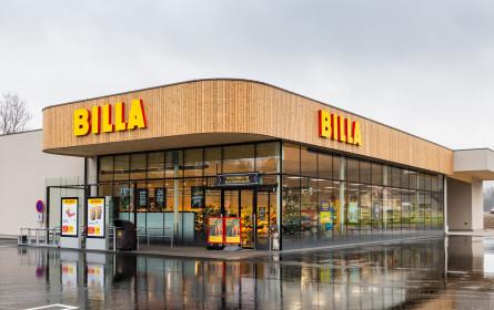 Volles Leben in der neuen Billa-Filiale in Pischelsdorf