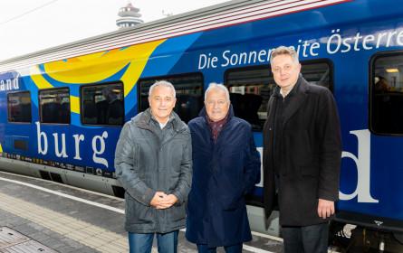 ÖFB-Railjet: Das Burgenland ist mit an Bord