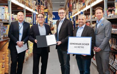 Gemeinsam.Sicher: Metro und Bundeskriminalamt schließen Kooperationsübereinkommen