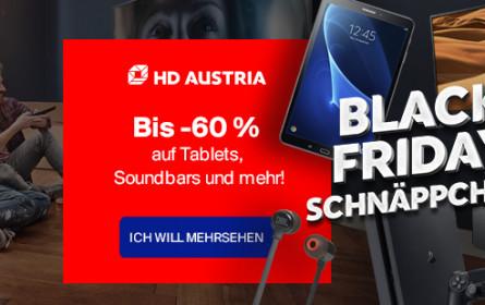 HD Austria feiert Black Friday mit ultrascharfen Angeboten und Rabatten
