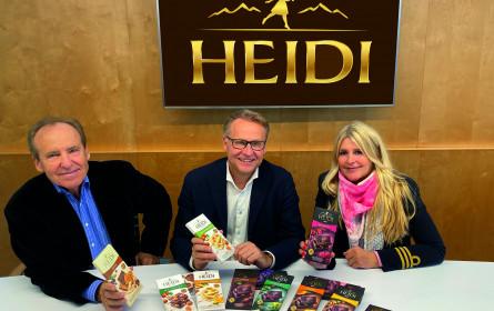 Heidi mit neuen globalen Designauftritt von Mark & Mark