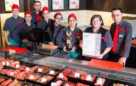 Beste Fleisch- und Wurstwarenabteilung Österreichs ausgezeichnet