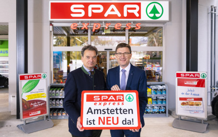 Spar express auf starkem Expansionskurs mit neuem Konzept