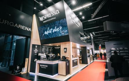 Nespresso Professional begeistert Besucher mit Maschineninnovation