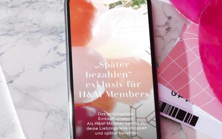 H&M führt Klarnas Rechnungskauf in Österreich ein