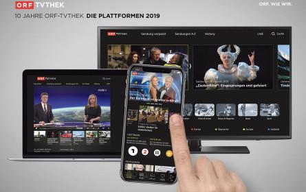 ORF-TVthek feiert 10. Geburtstag