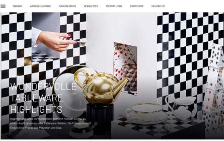 Falstaff Living launcht neues Online-Magazin