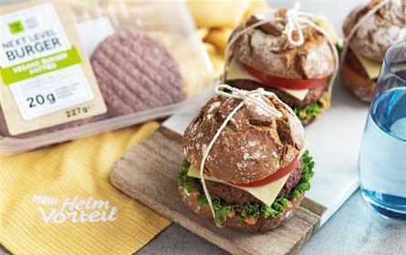 """Veganer """"Next Level""""-Burger bei Lidl Österreich wird klimaneutral"""