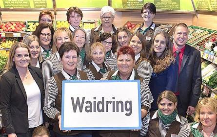Neuer Spar in Waidring