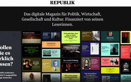 """Schweizer Online-Magazin """"Republik"""" droht Aus"""