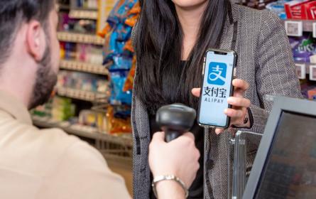 Zahlungsoption Alipay jetzt bei Billa, Merkur und Bipa