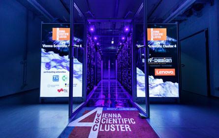 Supercomputer VSC-4 eröffnet: Rechenpower für die Forschung