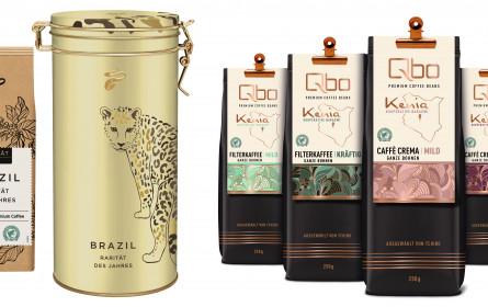 Frische Kaffee-Ernte aus Brasilien und Kenia: Tchibo Rarität des Jahres und Qbo Premium Coffee Beans