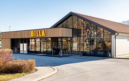 Volles Leben in der Billa Filiale in Kirchberg am Wechsel