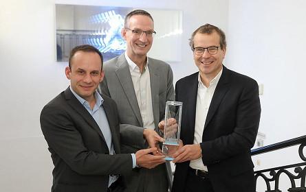 "futurezone Award für ""Blockchain Initiative Logistik"""