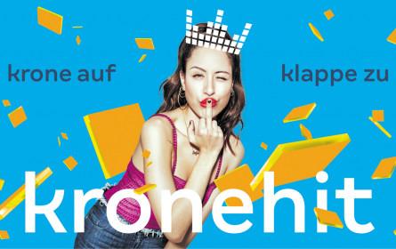 Kronehit: Neues Design, neue Markenkampagne