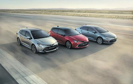 Keiner ist beliebter als der Toyota Corolla