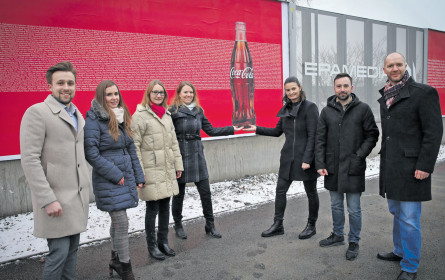 Coca-Cola vertraut erneut auf Epamedia