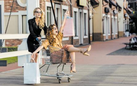 Shop 'til you drop – Konsum trägt Konjunktur