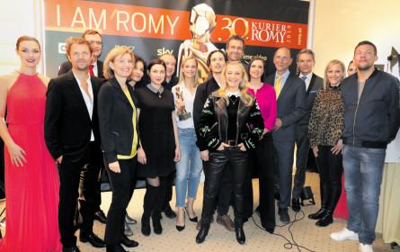 Eine runde Sache: Die Romy wird 30
